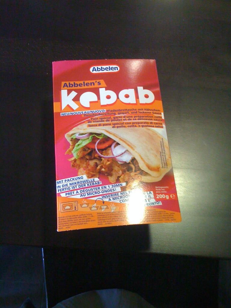 Kebabverpackung