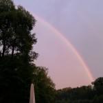 Regenbogen beim Fähribeizli