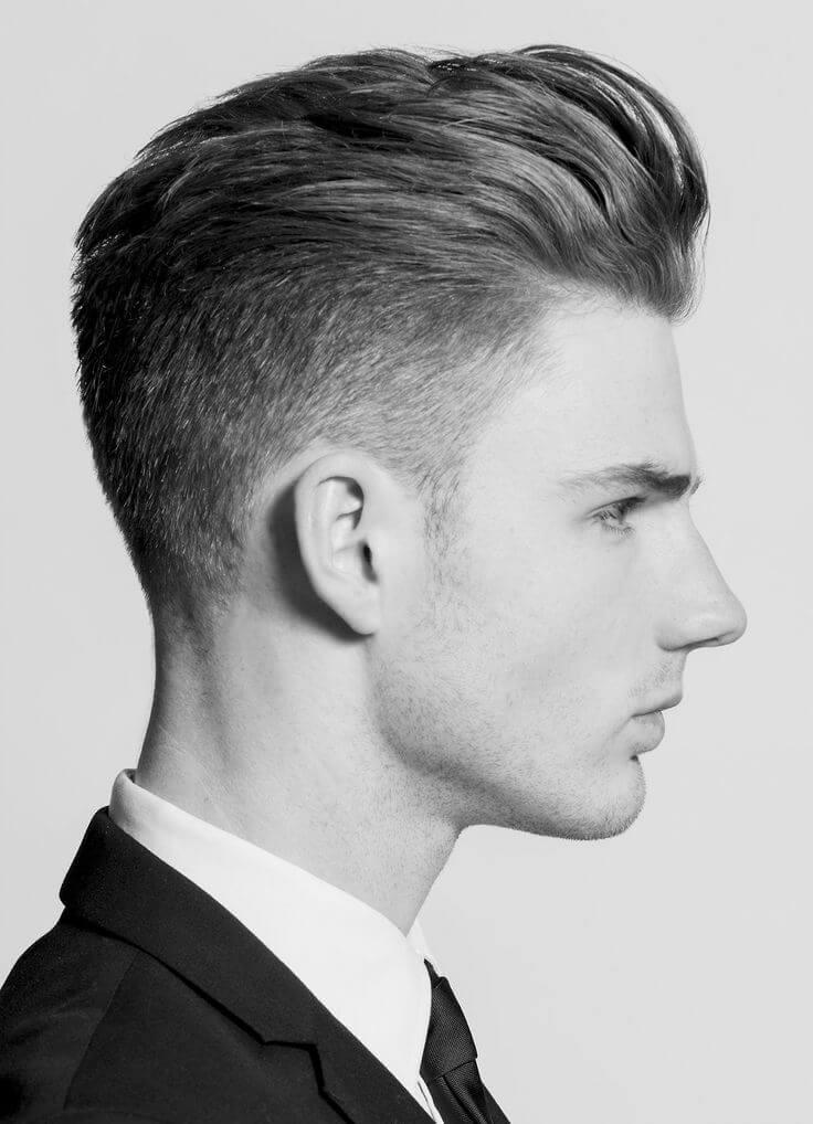 Frisur oben lang seite und hinten kurz
