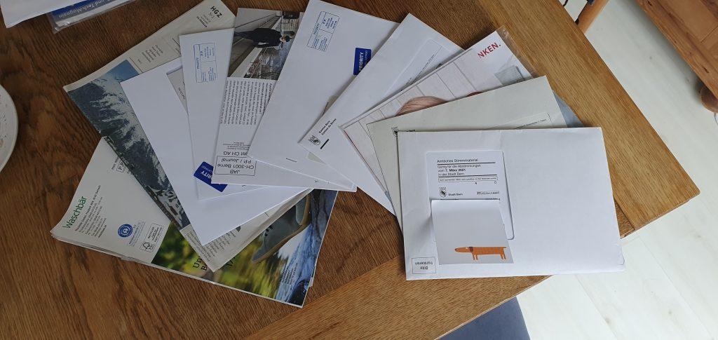 Alles Post, die nicht für uns bestimmt ist